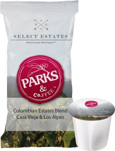 Available now in single-cup and fraction pack.
